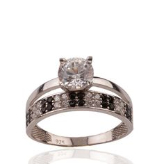 The Zerbap Wedding Ring with Zircon StoneZB0083 by Rosestyle, $16.50