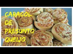 CARACOL DE PRESUNTO E QUEIJO - YouTube
