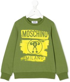 9df92aa7f75 Moschino Kids Question Mark Logo Sweatshirt - Farfetch