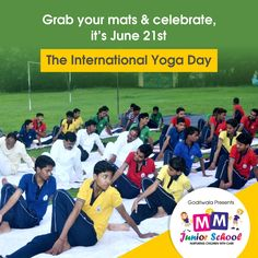 """""""You cannot do yoga. Yoga is your natural state. What you can do are yoga exercises, which may reveal to you where you are resisting your natural state."""" ~Sharon Gannon #InternationalYogaDay #IDY2017"""