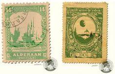 Star Wars Postage Stamps!