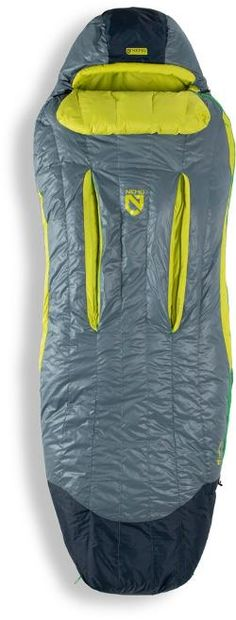 Updated with new contours, the men's NEMO Disco 30 sleeping bag is the ideal down backpacking bag for side-sleepers, offering plush comfort for long days on the trail. Available at REI, Satisfaction Guaranteed. Lightweight Sleeping Bag, Vintage Trailers, Vintage Campers, Long Underwear, Baby Car Seats, Camping Essentials, Camping Ideas, Camping Hacks, Camping Trailers