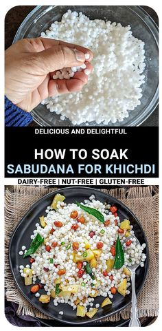 Say goodbye to sticky, gooey sabudana pearls and say hello toperfect separated tapioca pearls - today and every-time.Non-sticky Sabudana Khichdi