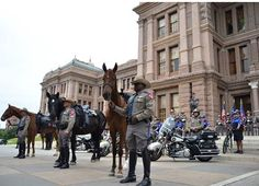 The MHPU is assigned to the Capitol Complex to enhance security and law enforcement capabilities. Austin, TX