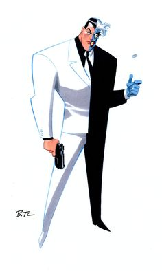 Heads or tails? (Bruce Timm)*