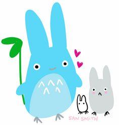 """San Smith: """"Drunk Totoro"""""""
