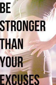 #strong #excuses #motivation #inspiration #fitspiration #fitspo