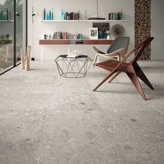 Take a look at the hottest tile trends we have seen so far for Concrete, timber, stone &brick look tiles . home. tiles are turning kitchens, bathrooms & living areas into works of art. Terrazzo, Handmade Tiles, Stone Flooring, Modern Interior Design, Tile Floor, Furniture, Home Decor, Porcelain Tiles, Design Trends