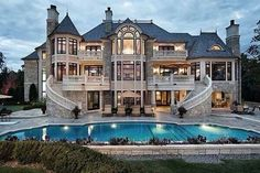 I don't want to live in this house, think how hard it would be to keep clean! Akk! It would a great vacation place though!!