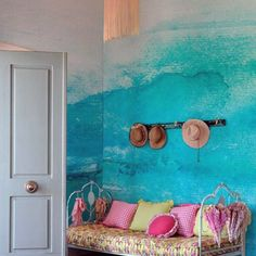 18 Images to love watercolor in the decoration | Chicaspradecorar.com.br