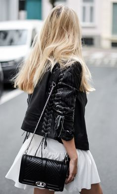 The leather jacket is a street-style approved staple regardless of the season. Shop our favorite picks in every cut imaginable. After all who doesn't love a little edge for spring??