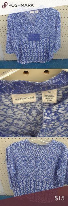 Shirt Linen shirt Westbound Tops Tunics