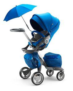 Z1P1B Stokke Xplory® Cobalt Blue Limited Edition Stroller