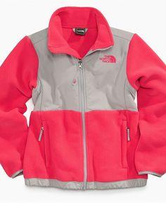 Love this color combo! The North Face Kids Jacket, Girls Denali Fleece Jacket - Kids Girls 2-6X - Macy's $109.00 #MacysBTS