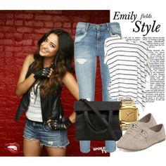 """""""Emily Fields Style"""" by griffiebear on Polyvore"""
