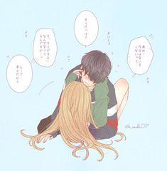 Anime Couples Drawings, Couple Drawings, Cute Anime Couples, Cute Anime Chibi, Anime Love, Anime Friendship, Hottest Anime Characters, Romantic Manga, Estilo Anime