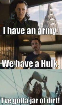 Hahahaha Jack Sparrow :)