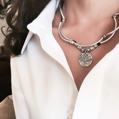 Lizzy James Jewelry switches from stackin' bracelet to necklace with stylish ease!  44 Main Street #ClintonNJ