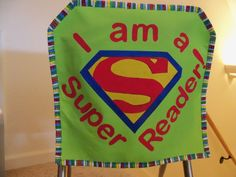Super Reader chair pocket! Acknowledge those accomplishments by your students…