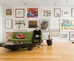"""THE COLLECTIONS OF ARTISTS"" – INSIDE THE HOMES OF JEFF KOONS, CHUCK CLOSE, UGO RONDINONE AND KAWS"