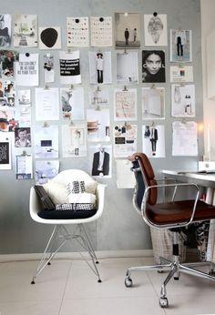 Susanne Swegen jobber med farger i hverdagen. Hjemme er det ro.