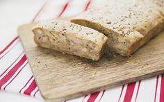 Banana and chia seed bread
