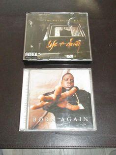#NotoriousBIG #LifeAfterDeath (2CD) & #BornAgain CD job lot #ebay #badboyrecords #hiphop
