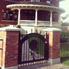Photo by quinnspyrka Garden Gates, Victorian Homes, Entryway, Iron, Windows, Doors, Beautiful, Instagram, Home Decor