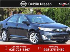 2013 Toyota Camry Hybrid XLE $19,500  miles 925-725-1867 Transmission: Automatic  #Toyota #Camry #used #cars #DublinNissan #Dublin #CA #tapcars