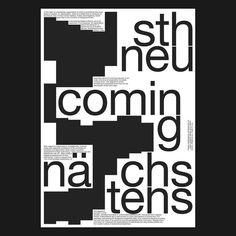Mixtures . . . . #studiostudio #typography #poster #typoposter #type #helvetica #grid #graphicdesign #design #print #printdesign #layout…