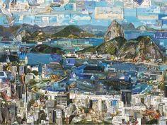 O artista plástico Vik Muniz exibe suas obras no Santander Cultural até o dia 10 de agosto. Confira