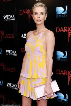 New mum: Charlize Theron has reportedly adopted a second child, a daughter named August