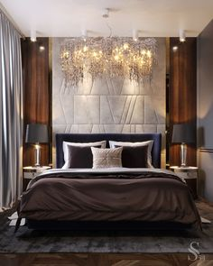 Guest bedroom - The guest room is an integral part of the house, its interior may not be as luxurious as the master - Modern Luxury Bedroom, Luxury Bedroom Design, Bedroom Bed Design, Contemporary Bedroom, Luxurious Bedrooms, Bedroom Decor, Luxury Bedrooms, Bedroom Ideas, Bedroom Apartment