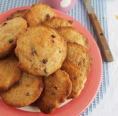 Baby Food Recipes, Cookie Recipes, Food Platters, Yummy Cookies, Food Cakes, Sin Gluten, Healthy Baking, Chocolate Chip Cookies, Smoothie Recipes