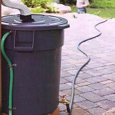 Como fazer um coletor de água da chuva