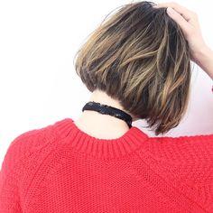 ハイライトカラーが可愛い❤️#ハイライト#デザインカラー#ブリーチカラー#ローライト#ボブ#hair#hairstyles@suburbia_displayのInstagram写真をチェック • いいね!5件