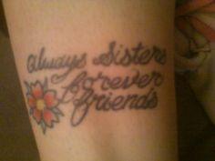 Sister Tattoo Grinnell | Tattoomagz.com › Tattoo Designs / Ink ...