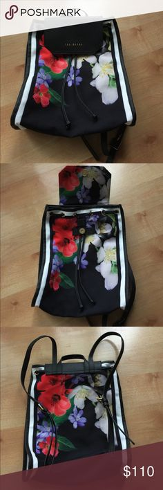 Ted Baker Backpack Purse - New Ted Baker backpack purse.  New, no tags.  Beautiful! Ted Baker Bags Backpacks