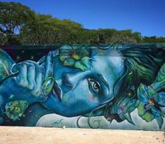 Street Art by Thiago Valdi, located in Florianopolis, Brazil