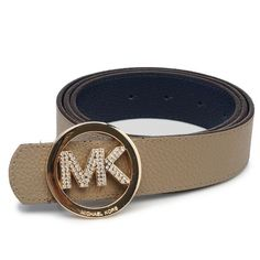 Michael Kors Logo-Medallion Leather Large Grey Accessories Outle [1450914009-2702] - $50.