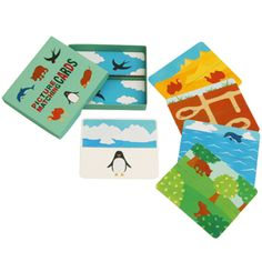 Picture Matching Cards (Animal Homes) - Toys - Paper Craft - Canon CREATIVE PARK