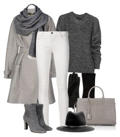 """Matching Coat and Bag - Contest (Outfit Only)!"" by asia-12 ❤ liked on Polyvore featuring Belstaff, Lord & Taylor, Burberry, Yves Saint Laurent, Black Rivet, L'Autre Chose, rag & bone, women's clothing, women and female"