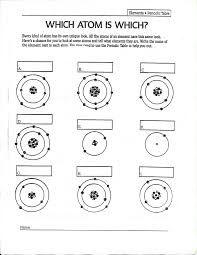 atom structure worksheet middle school에 대한 이미지 검색결과