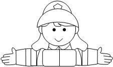 Fun children's learning activities, including printable templates, for preschool, kindergarten and elementary school kids. Fireman Hat, Subitizing, Kids Learning Activities, Fire Safety, 100th Day, Firefighter, Elementary Schools, Kindergarten, Preschool