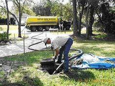 When you call a septic service provider, he or she will inspect for leaks and examine the scum and sludge layers in your septic tank.