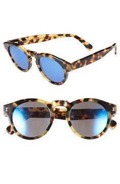 Illesteva+'Leonard'+48mm+Mirrored+Sunglasses+available+at+#Nordstrom