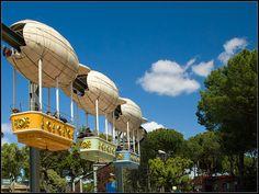 Haciendo el ridículo en el Parque de Atracciones