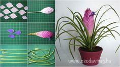 Fondant Flowers, Clay Flowers, Paper Flowers, Diy Clay, Clay Crafts, Biscuit, Sugar Paste Flowers, Paper Plants, Mini Plants