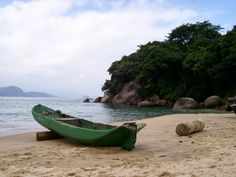 Praia do Sono, Paraty, Brazil. This Rio beach paradise is creating an embroidery tradition - read more about it here: http://j.mp/1f6Rlqr