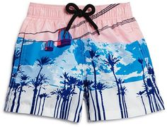 Vilebrequin Boys' Jim Sky Blue Swim Trunks - Sizes 2-8